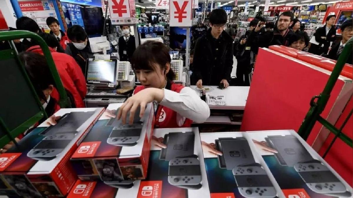 Nintendo aplasta a su competencia, PlayStation con casi el doble de ventas.