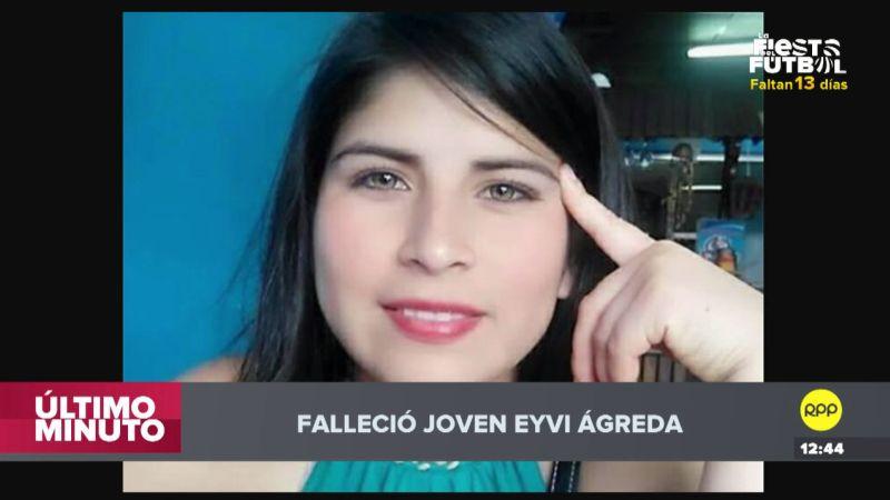 Eyvi Liset Ágreda fue atacada brutalmente por Carlos Huallpa la noche del 24 de abril.