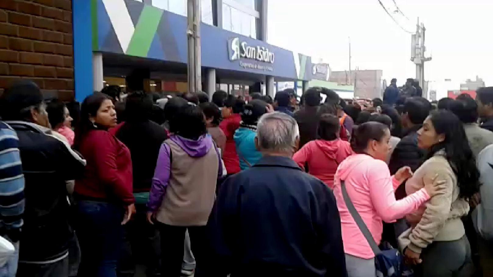 El gerente general de la Cooperativa San Isidro, Jorge Zevallos, manifestó que no están inmersos en delitos de lavado de activos y que tienen más de 60 años de trayectoria financiera intachable.