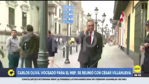 El economista ha sido también director del Banco Central de Reserva en el gobierno de Ollanta Humala.