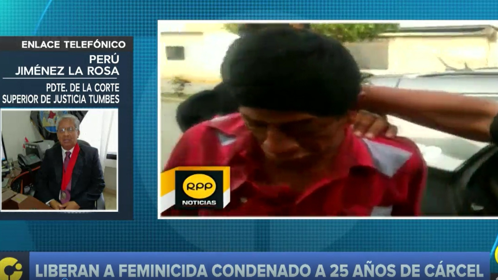 Perú Jiménez La Rosa explicó la sentencia de la Sala Penal de Apelaciones de la Corte Superior de Justicia de Tumbes