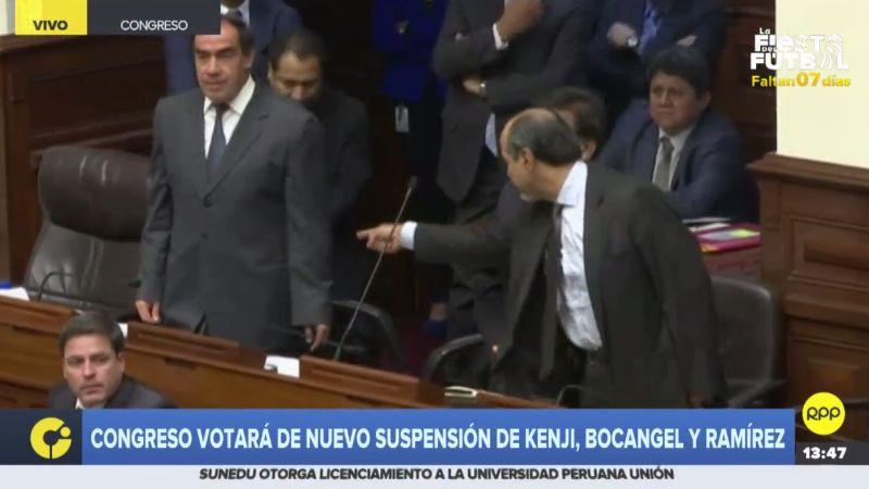 Mulder y Lescano protagonizaron un nuevo incidente en el Pleno.