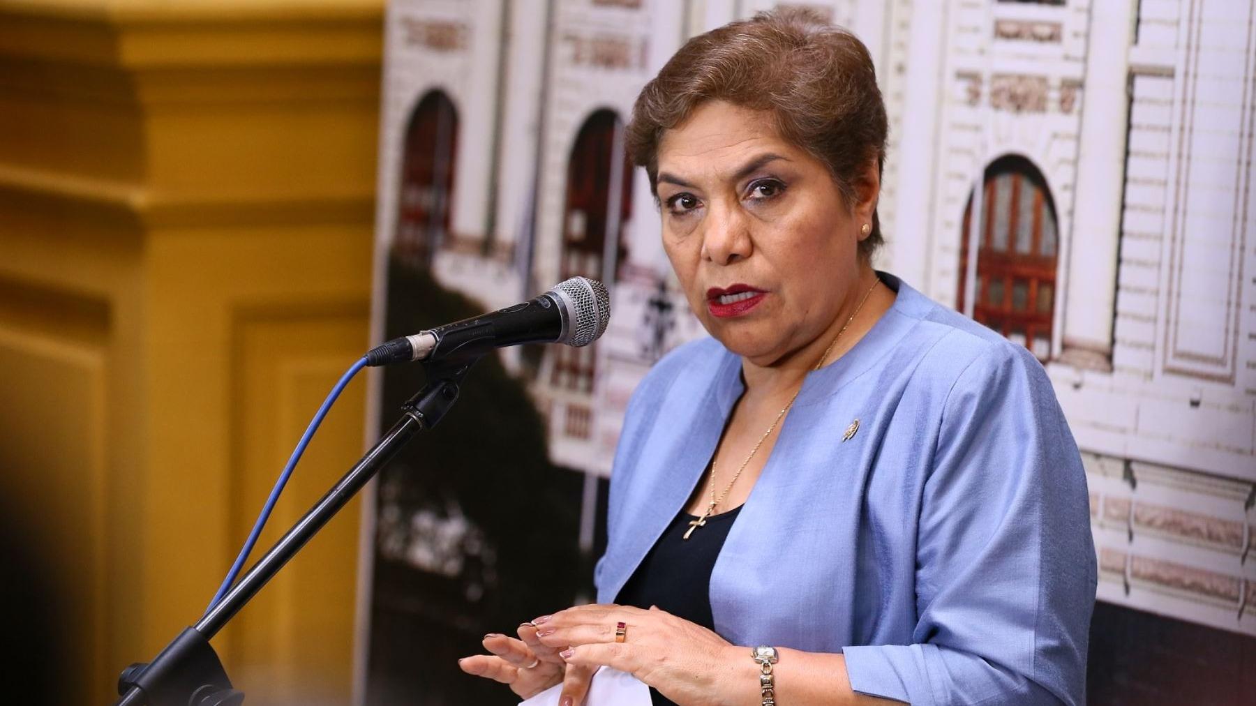La congresista dijo que el expresidente ya pasó 10 años en prisión por las matanzas de Barrios Altos y La Cantuta.