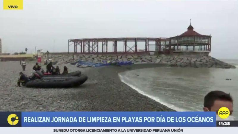 """""""Estamos tratando de sensibilizar para que entiendan el valor de no contaminar el mar"""", dijo la ministra Fabiola Muñoz."""