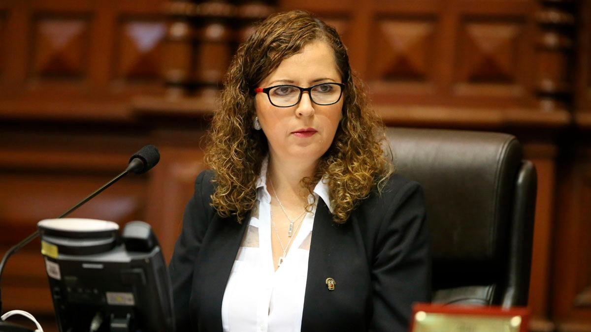 Rosa Bartra pidió más colaboración del Ministerio Público.