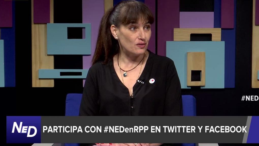 La ministra de Salud, Silvia Pessah, comenta la Ley de Alimentación Saludable en Nada Está Dicho en RPP.