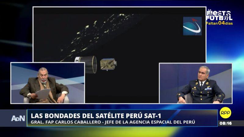 Esto ha logrado el satélite Perú SAT-1 en 18 meses de uso.