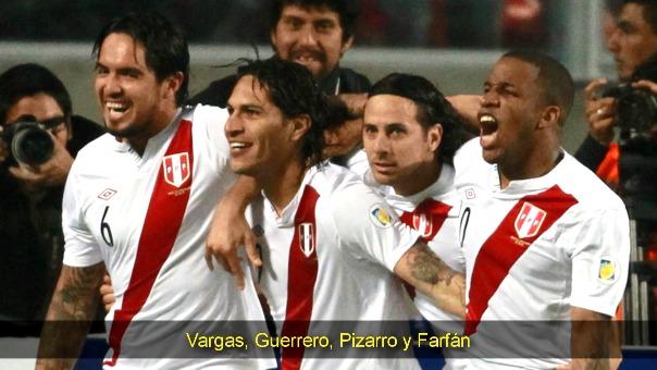 Vargas, Guerrero, Pizarro y Farfán. La base de ataque de Markarian