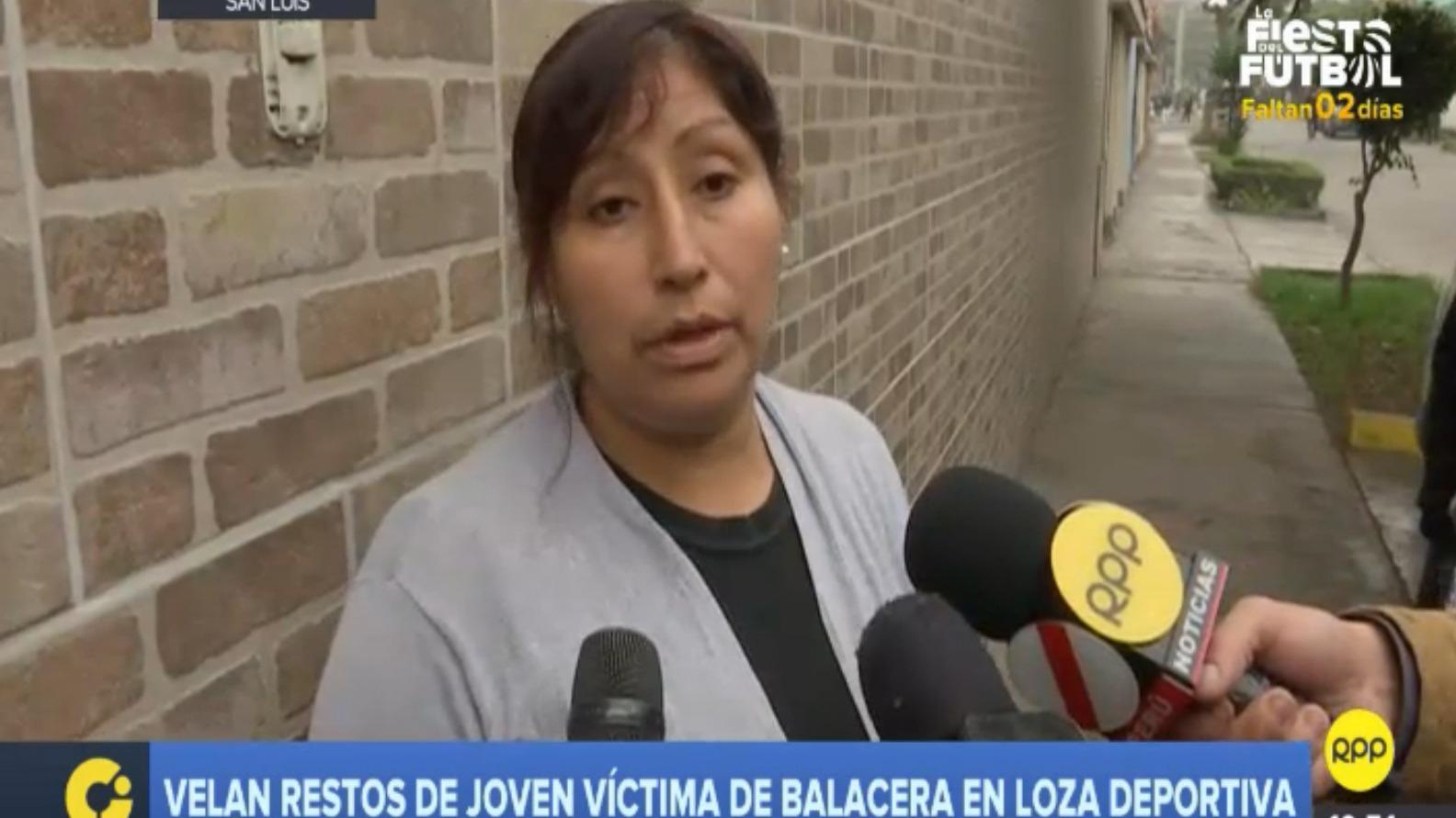 Los restos de la joven son velados en San Luis.