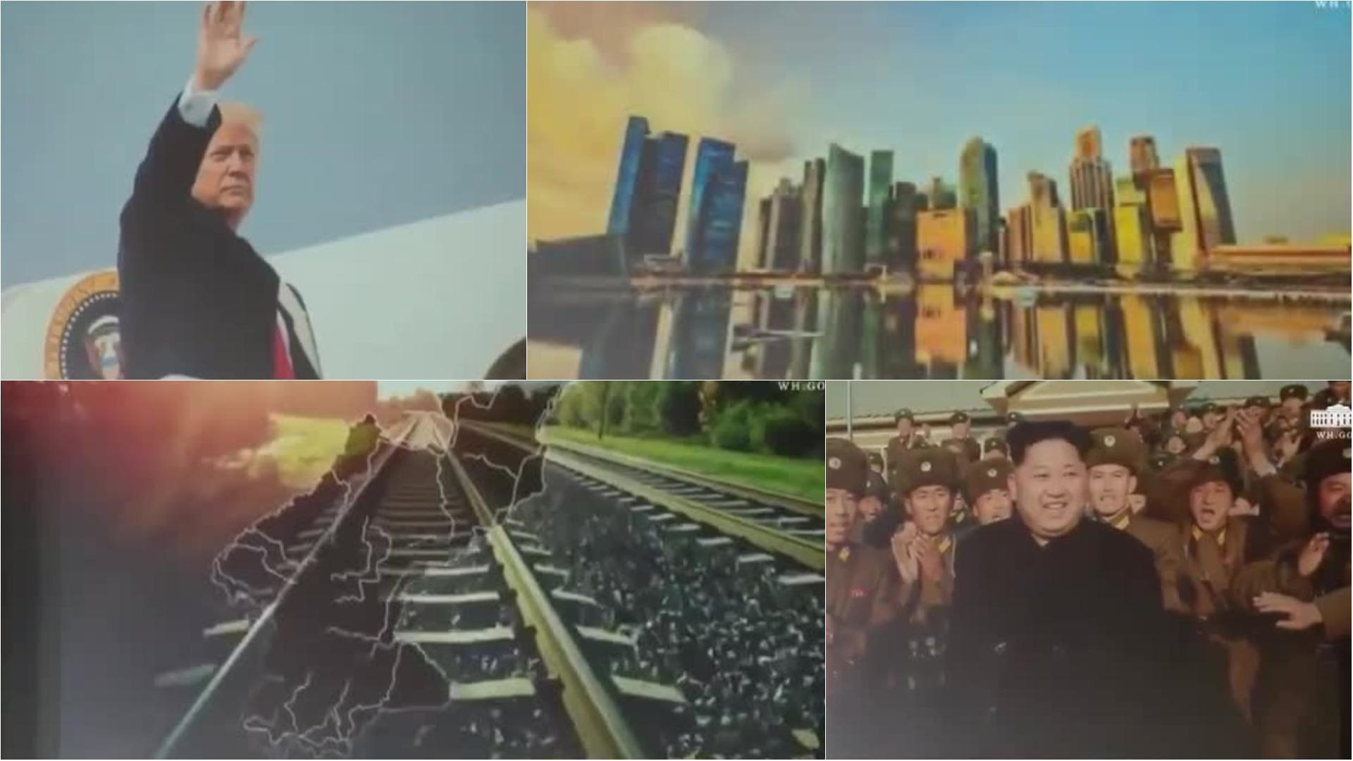 El video que Trump le mostró a Kim Jong-un.