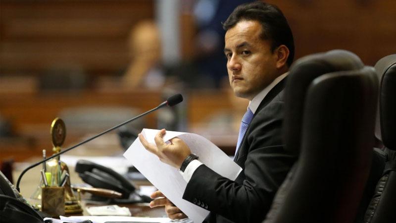 Elías Rodríguez, presidente de la comisión de Levantamiento de Inmunidad Parlamentaria descartó que se haya blindado al también vicepresidente del Congreso.