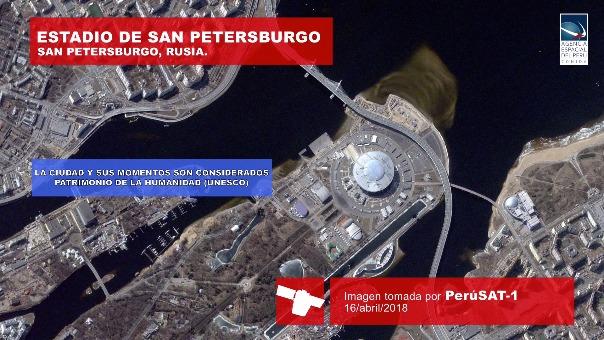 Un video sobre las imágenes tomadas por PerúSAT-1.