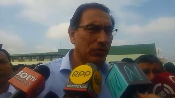 Desde Chiclayo el mandatario Martín Vizcarra dijo que observará la ley que prohibe la publicidad estatal en los medios de comunicación