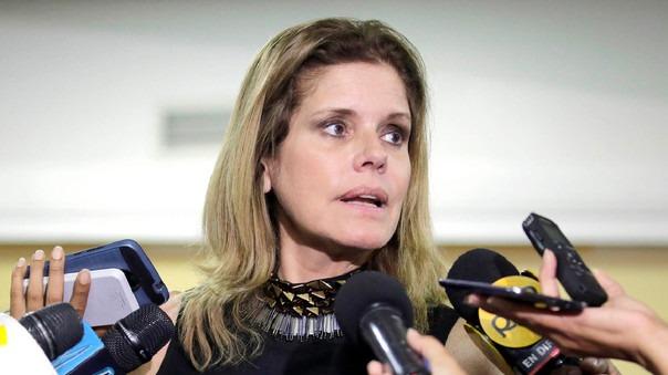 Mercedes Aráoz se pronunció sobre ley de publicidad estatal.