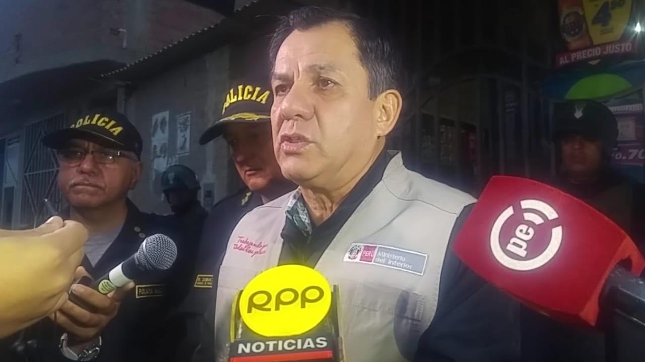 Ministro del Interior, Mauro Medina, indicó que esta organización criminal operaba desde el 2015.