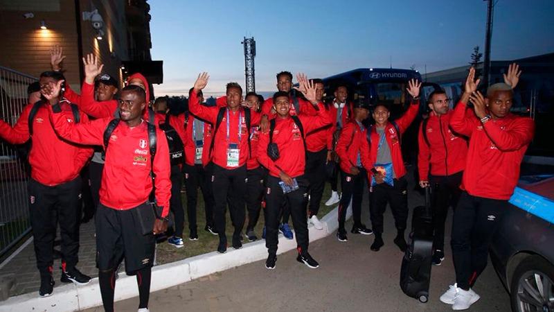 La Selección Peruana ya se encuentra en Saransk para su debut en Rusia 2018.