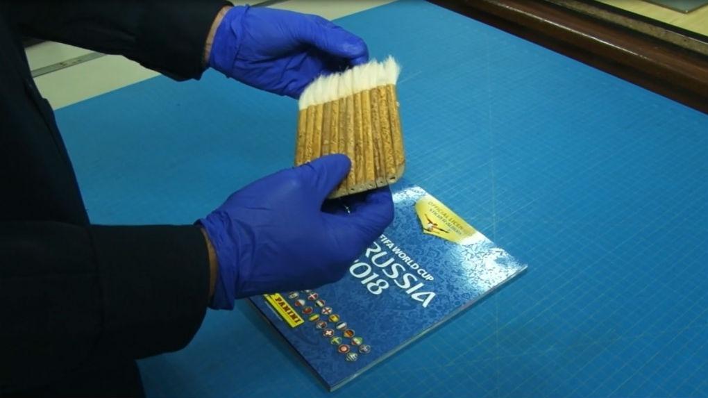 La limpieza es fundamental. Para ello se debe usar una brocha de cerdas suaves.
