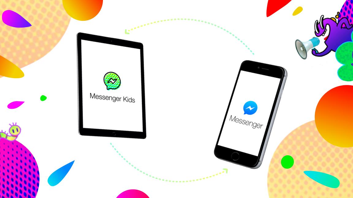 Así funciona Messenger Kids.
