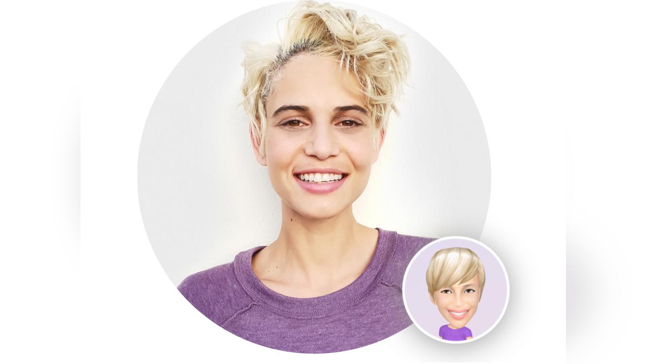 """Con la función """"Crear mi Emoji"""" ahora también puedes crear uno totalmente personalizado."""