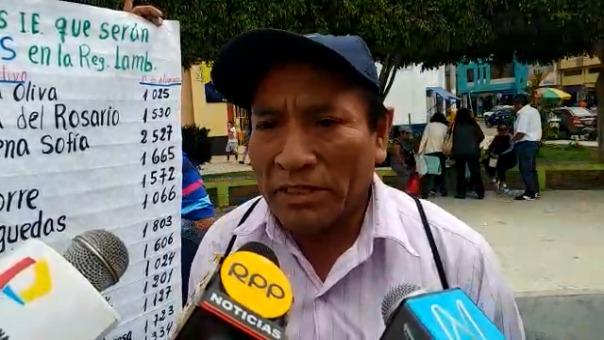 Los maestros de Motupe y Olmos registran la mayor cantidad de maestros en huelga