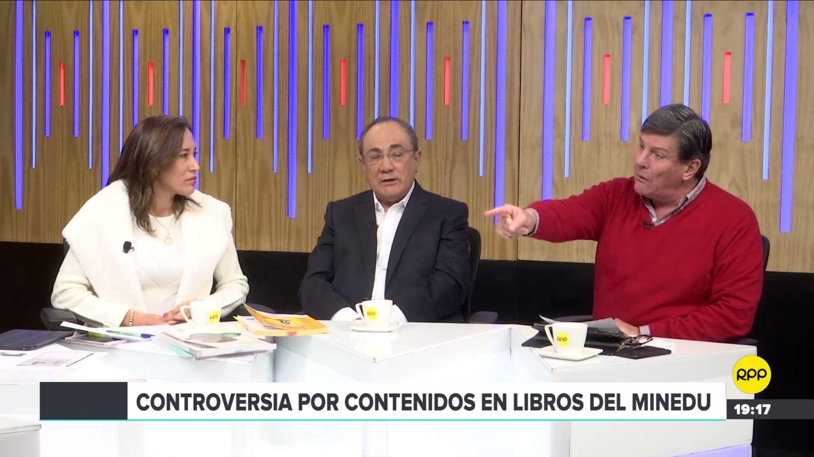 Idel Vexler, Paloma Noceda y Rafael Rey comentaron los textos del Minedu en ¿Quién Tiene la Razón?