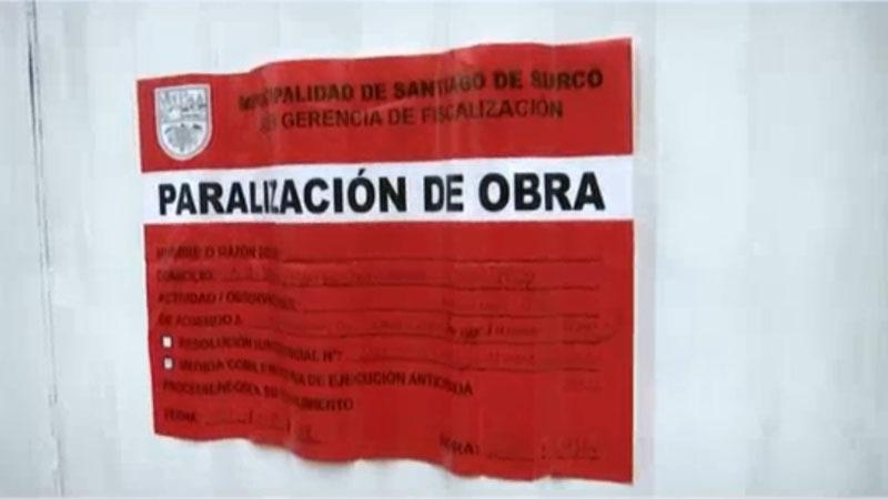 El funcionario municipal dijo que la obra sería investigada por la procuraduría de la comuna.