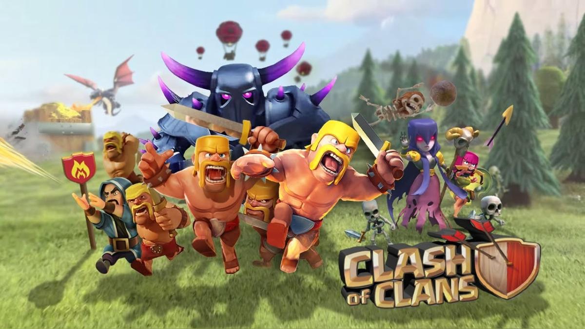 Clash of clans trata sobre batallas tácticas en tiempo real.