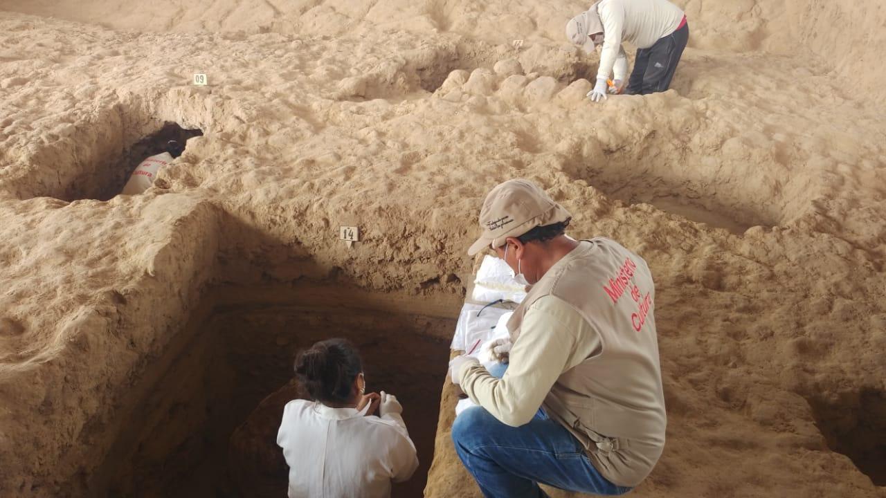 Asombroso hallazgo se realizó en el sector denominado Huaca Las Abejas.