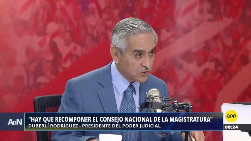 Duberlí Rodríguez estuvo esta mañana en Ampliación de Noticias.