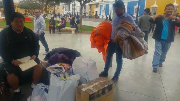 Voluntarios viajarán a Puno con donativos.