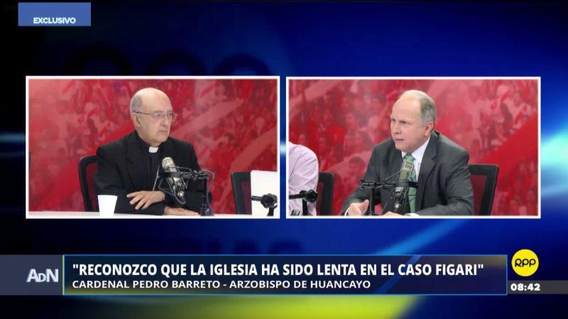 El cardenal Pedro Barreto estuvo esta mañana en Ampliación de Noticias.