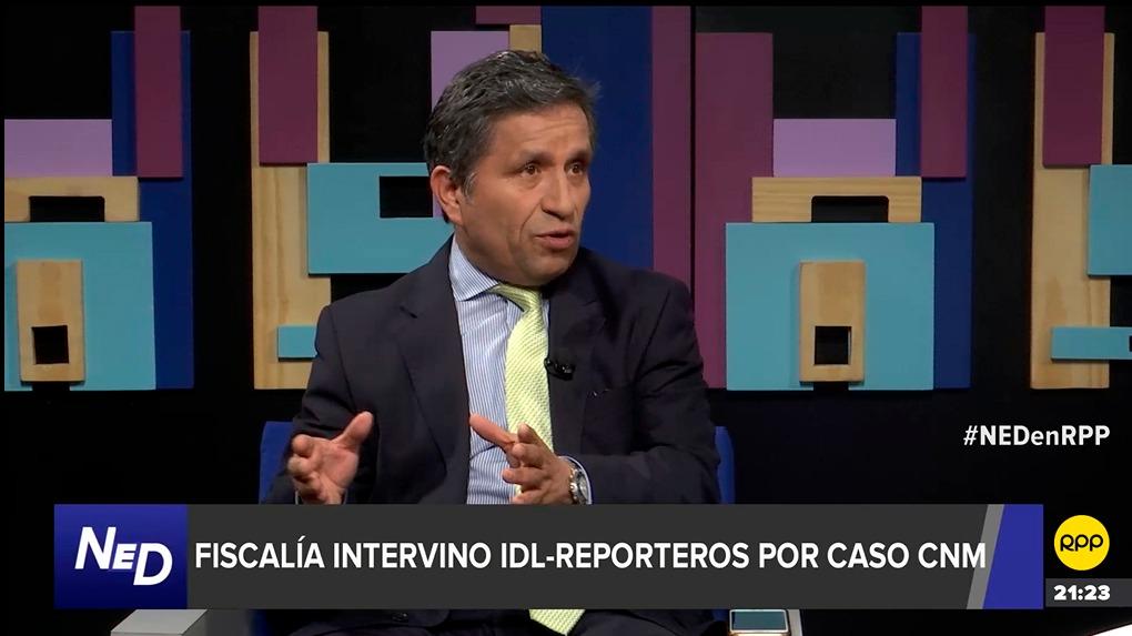 Carlos Rivera, abogado del Instituto de Defensa Legal (IDL)