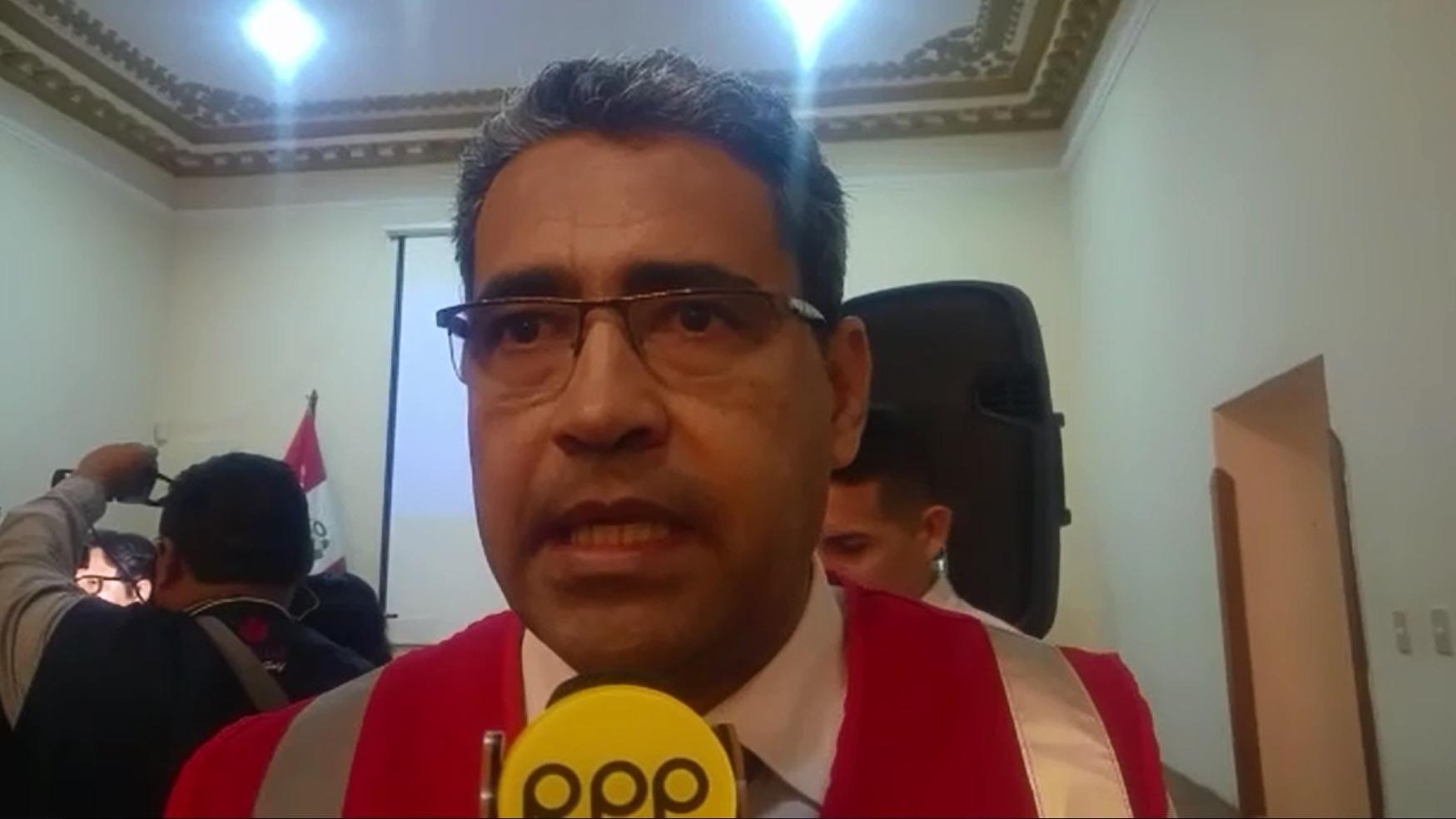 Superintendente regional de la Sunafil en La Libertad, Miguel Rubiños, advirtió un alto porcentaje de choferes que laboran de manera informal.