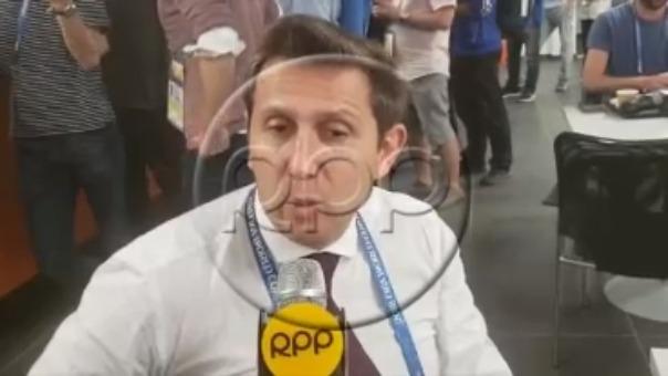 RPP Noticias entrevistó en exclusiva desde Rusia 2018 al reconocido periodista argentino Juan Pablo Varsky.