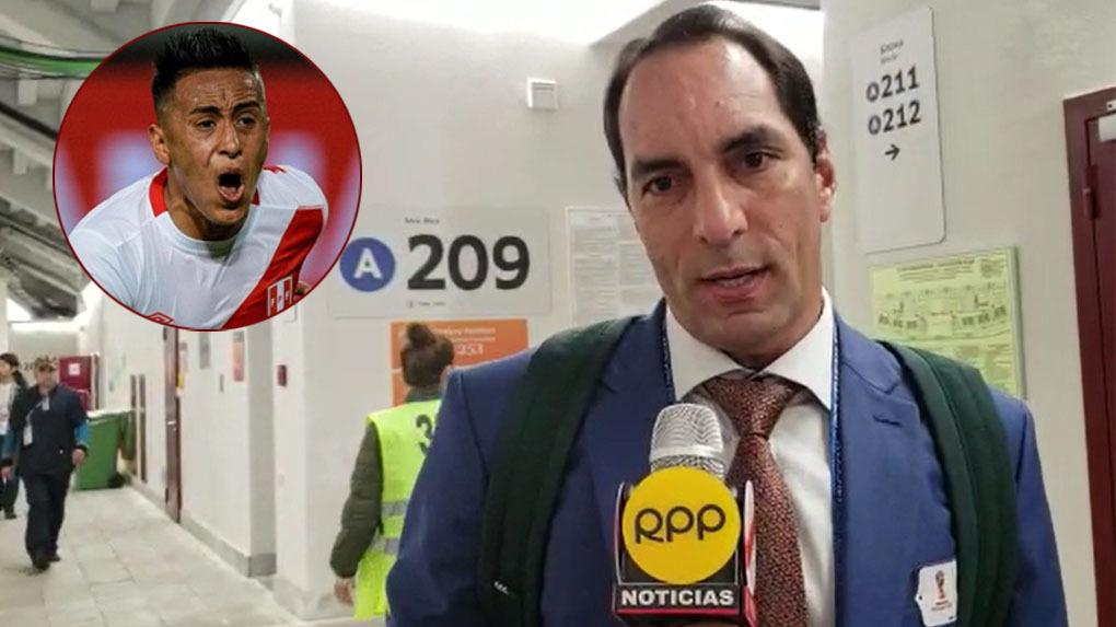 Se encuentra en Rusia comentando la Copa del Mundo para una cadena brasileña.