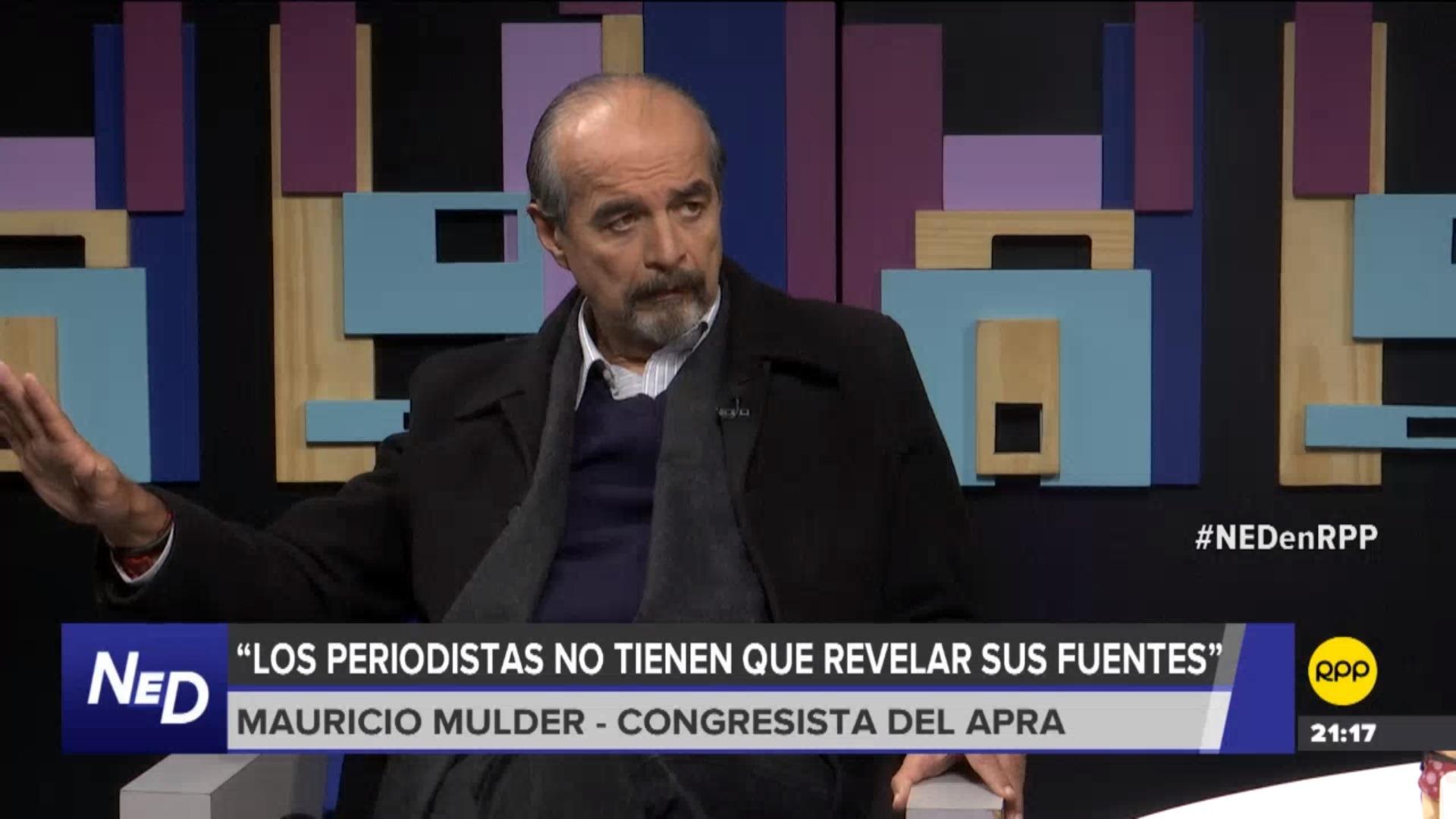 El parlamentario comentó que la citación a Gorriti y Cueva no fue discutida en la comisión de Fiscalización.