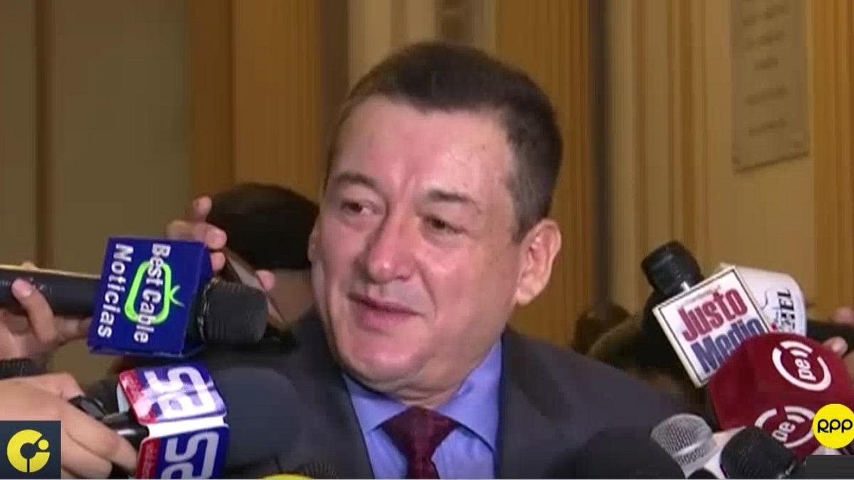 Reátegui es presidente de la Comisión de Fiscalización.