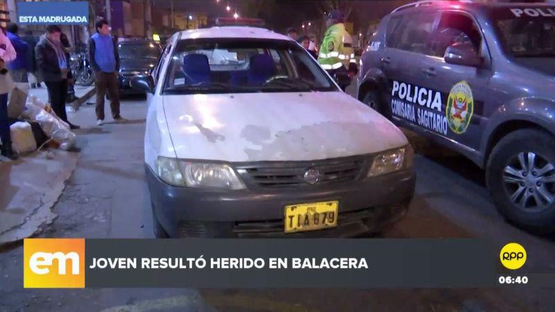 El hecho ocurrió en las inmediaciones de un grifo en la avenida Tomás Marsano.