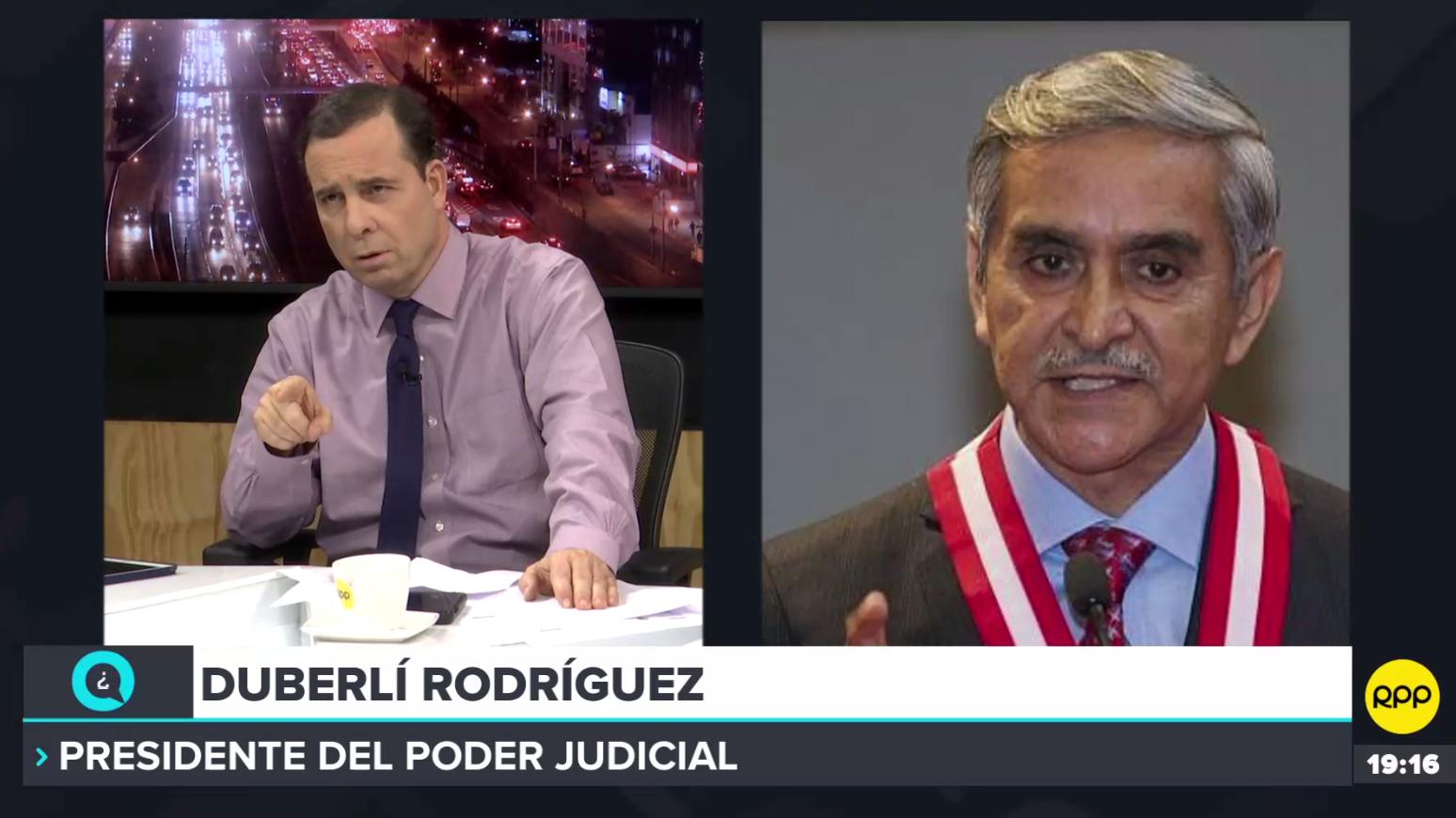 Duberlí Rodríguez se pronunció tras la difusión de un audio en que su asesor invita a Walter Ríos a una reunión en su nombre.