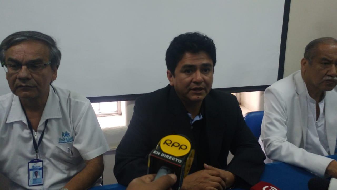 Gerente de EsSalud, Juan Rodríguez Terrones, indicó que la finalidad es mejorar la atención.