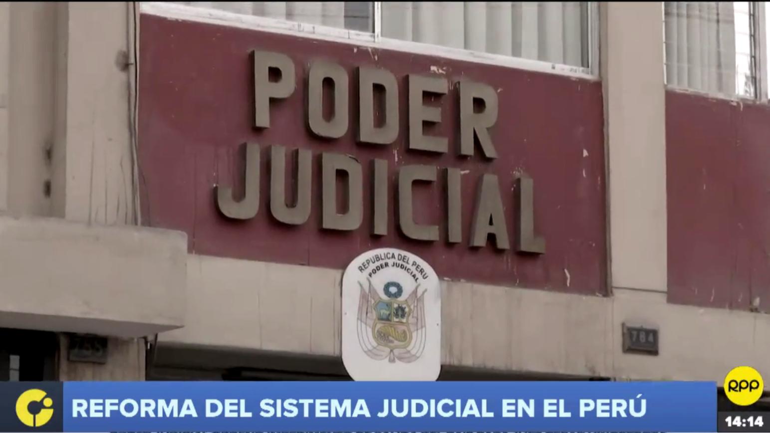 Reforma en el sistema judicial en el Perú.