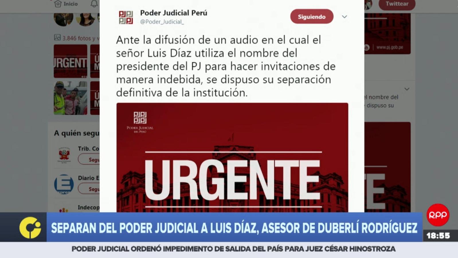 El portal web IDL-Reporteros difundió este viernes un nuevo audio en el que José Díaz coordina una reunión