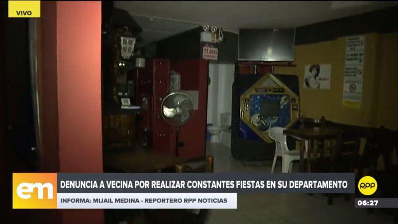 Desde hace ocho años Marleni Paz Valdivia convive con esta cantina, pero las autoridades no hacen caso a sus reclamos.