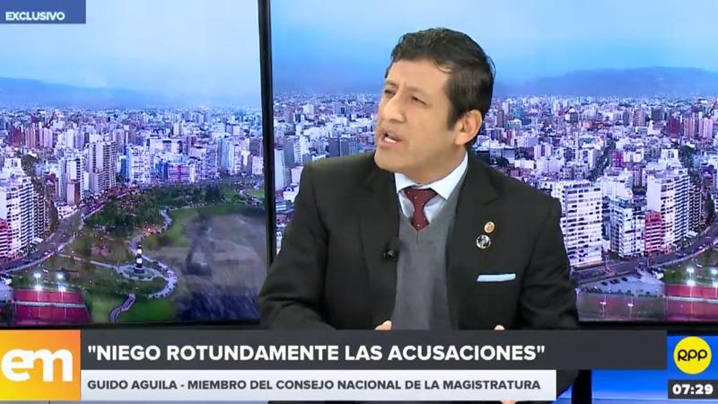 Guido Aguila en Edición Mañana de RPP.