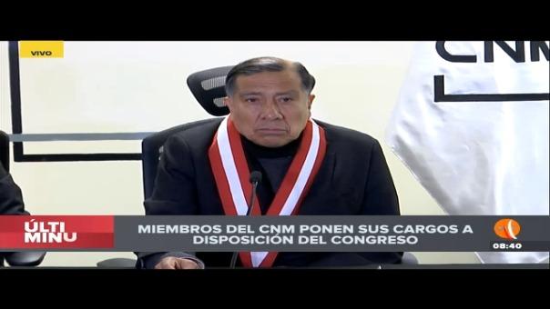 Baltazar Morales recordó que Becerril buscó conminarlo a que vote por Julio Gutiérrez Pebe.