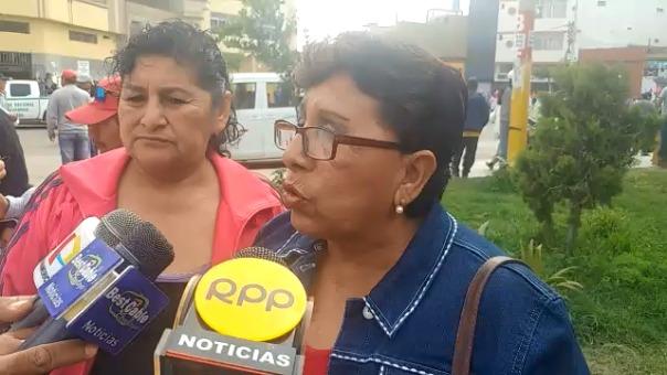 Secretaria general de la CGTP, Victoria Pizarro Ruiz, indicó que también piden una nueva constitución.