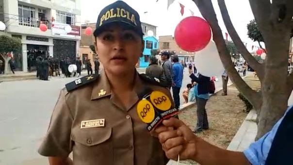 Teniente pidió a la población fortalecer su identidad nacional.