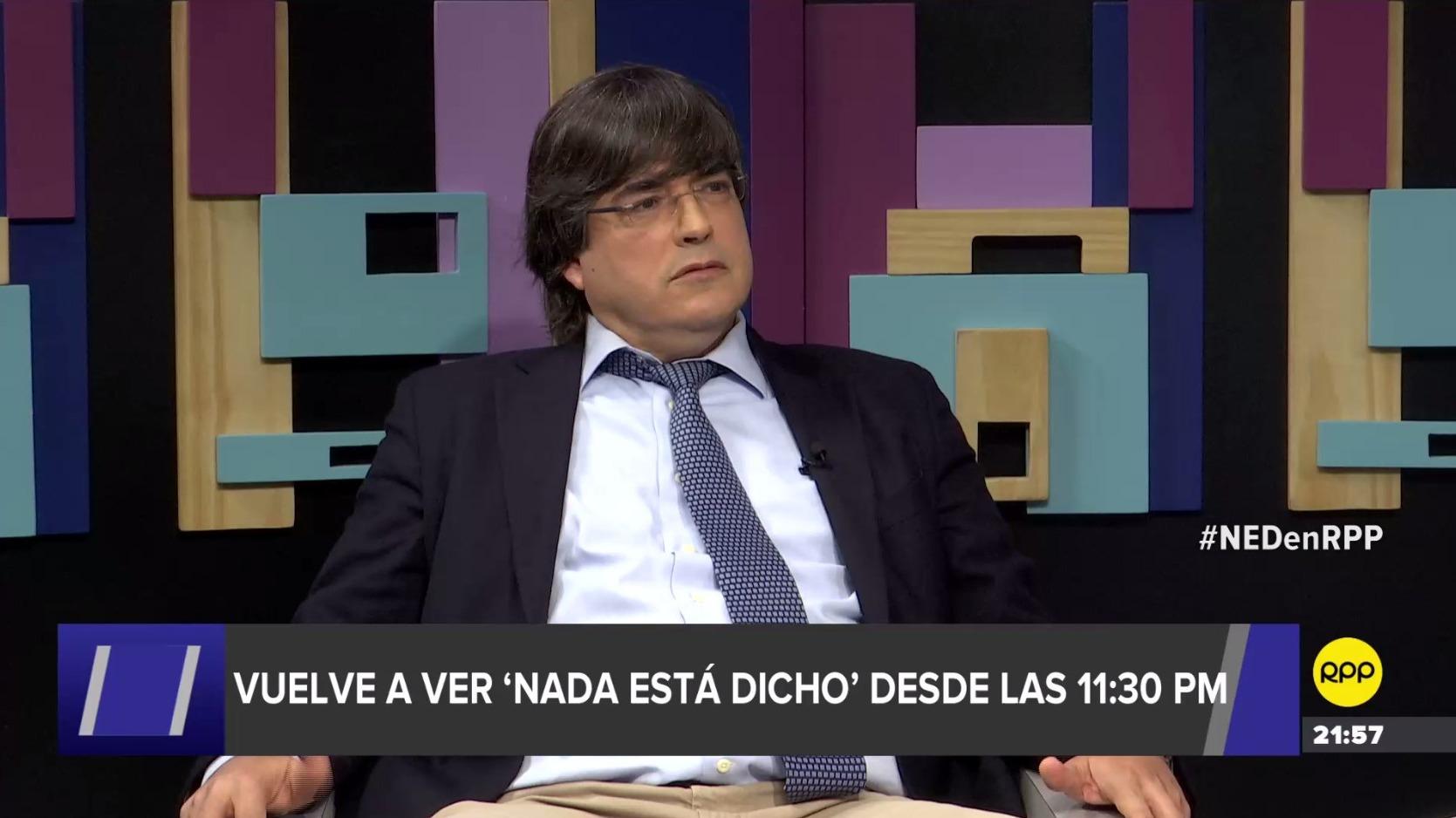 Jaime Bayly partició en segmento de pregunta-respuesta en 'Nada Está Dicho' en RPP.