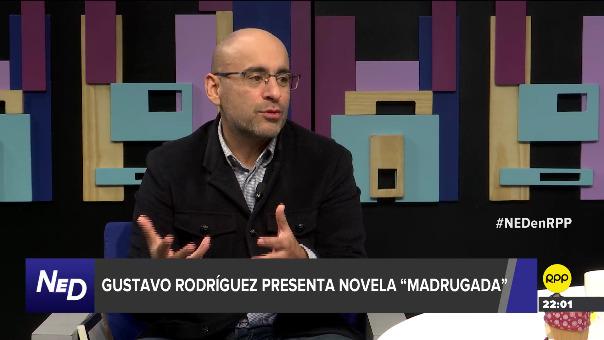 Gustavo Rodríguez presentó su novela
