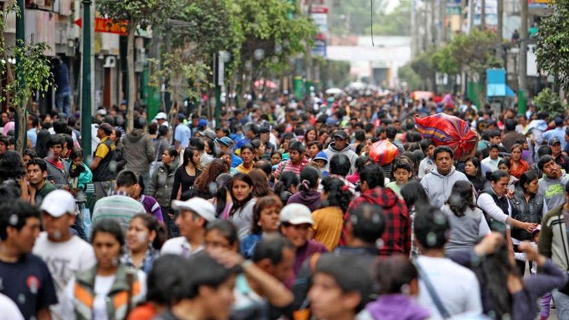 La población peruana, en promedio, se ubica entre los 20 y 30 años, explica Arellano.